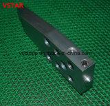 Часть высокой точности подгонянная фабрикой алюминиевая CNC подвергая механической обработке для оборудования машинного оборудования
