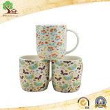 14oz Mok van de Reclame van de Mok van de bevordering de Ceramische met het Ontwerp van de Vlinder