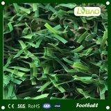 Do fio artificial da forma do relvado S do futebol grama artificial