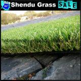 grama artificial do gramado do projeto do OEM de 20mm