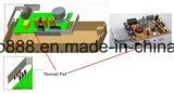 Het uiterst dunne Geleidende Stootkussen van het Silicone 8W voor Bestuurder Geen Fabriek van het Hiaat ISO van het Stootkussen van de Isolatie van MOQ RoHS Heatsink