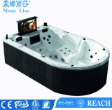 Monalisaの贅沢なマッサージのアクリルの温水浴槽の鉱泉M-3361
