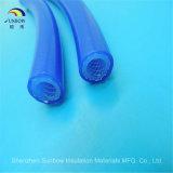 Manicotto di gomma di rinforzo della tubazione intrecciato silicone
