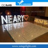 16pcs super LED lumineux plancher de danse étoilée