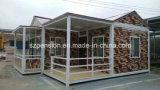 Casa móvil/chalet prefabricados de las vacaciones simples portables/prefabricados para la gran cantidad