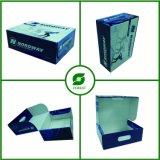 Einteiliger gewölbter Schuh-Verpackungs-Kasten mit Farben-Drucken