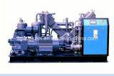 Compresor de aire de alta presión del pistón del tornillo del aumentador de presión del animal doméstico de Oilless (KSP75/45-30)