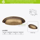 Armário de Bronze esfregou óleo do compartimento de Hardware Manopla Cup puxa