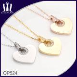 Новый Jewellery шкентеля формы сердца нержавеющей стали конструкции 316L