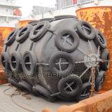 Defensas llenadas espuma marina protectora de los accesorios del barco de la nave