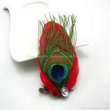 بالجملة نمو [هندمد] يصبغ حرفات منتوج يريّش طاووس زهرة زخرفيّة