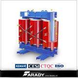 10kv de Droge Transformator van de Hoogspanning van de Transformator van de Distributie van het Type 2000kVA