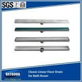 Dreno clássico de piso linear para sala de banho