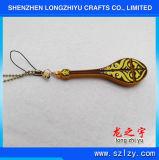 Figura cinese su ordinazione del Pipa di Keychain Keychain del metallo