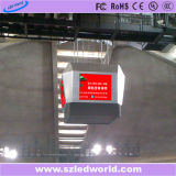 P6 실내 깔때기 모양 풀 컬러 전시 화면을%s 모든 측 LED 영상 벽