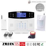 Het draadloze GSM Alarm van de Veiligheid met identiteitskaart van het Contact