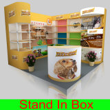 E33 Shell Kit System Shell Scheme Exhibition Booth 3X3