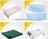 ゴムが付いている使い捨て可能なPPのベッド・カバー