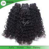工場製造の高品質の緩い巻き毛の人間の毛髪の拡張