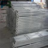 Prancha de aço galvanizada Q235 com ganchos