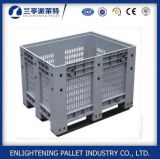 Grande preço de venda plástico industrial Stackable personalizado da caixa de pálete