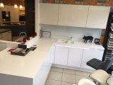 Gabinete de cozinha elevado do lustro para as cozinhas Home