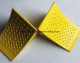 Alta visibilidad Color amarillo ligero rueda de poliuretano calce