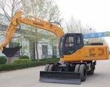 Htl120-9 Excavadora de rueda en Malasia