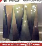 Panel Compuesto de Aluminio fachadas arquitectónicas dosel de los paneles de señalización de techo Fachadas ventiladas