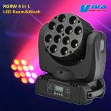 12X10W RGBW Faisceau de LED Quad