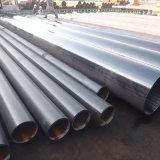 Tubo de acero soldado negro, de 60.3mm /88,9 mm /114,3 mm de tubo redondo de cuerpos huecos