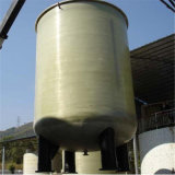 Prfv GRP Tanque Industrial Filtro de grande diâmetro Filtro Químico