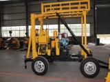 Hf-2 monté sur le forage de puits d'eau de la remorque pour utilisation à domicile, Machine de base