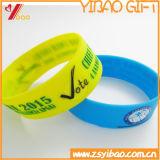 Preiswertester kundenspezifischer SilikonWristband mit Cmyk Drucken (YB-LY-WR-04)