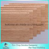 vertical do caramelo de 12mm painel de bambu do bambu da madeira compensada da placa de bambu de 3 camadas