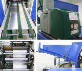 Rollo de papel de aluminio en el hogar rebobinadora cortadora longitudinal