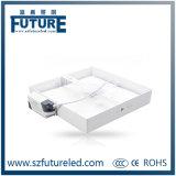 Ultra-Thin 24W Square LED panneau de lumière avec acrylique et verre