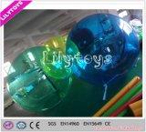 Bola que recorre del agua inflable de la burbuja con el certificado del SGS