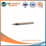 Высокая точность сплошной конец из карбида вольфрама мельница HRC60 с хорошим качеством