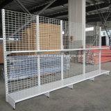 De Spaanse Planken van de Vertoning van de Supermarkt van de Gondel van de Draad van het Staal van de Stijl Achter Opschortende