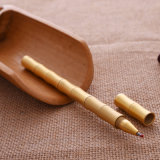 Stylo bille en laiton en bambou mat en gros