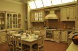 Heißester kundenspezifischer beige Granit-KücheCountertop