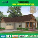 Lange Lebensdauer-ökonomisches vorfabriziertes Haus mit Dekoration