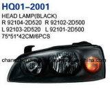 Conjunto de faro se adapta a la Hyundai Avante Elantra 2004 92104-2520/92102500/92102 D-2D-2D510/92101-2D510.