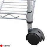 Adjustable 5 Shelves Household Light Duty chrome Metal Wire STORAGE Shelving Solutions for halls