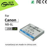 De nieuwe Decoderende Digitale Batterij van de Camera voor de Hoeveelheid van de Elektriciteit van de Vertoning van de Canon nb-6L