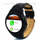 telefone esperto do relógio de 3G WiFi com frequência cardíaca & Mtk6572 X1