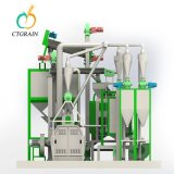 Ctgrain Mais-Mehl-Prägefabrik-Maschine