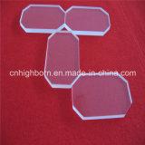 Большой размер прозрачный силиконовый кварцевой пластины