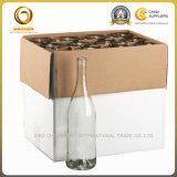 Бутылочное стекло вина цвета ясности пакета коробки (1272)